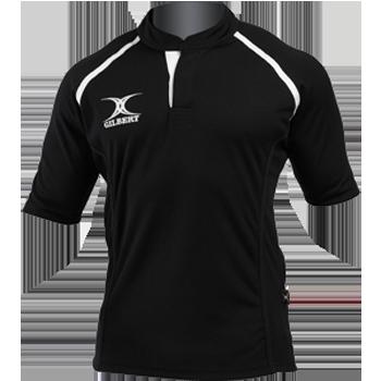 Gilbert Xact rugby shirt Zwart