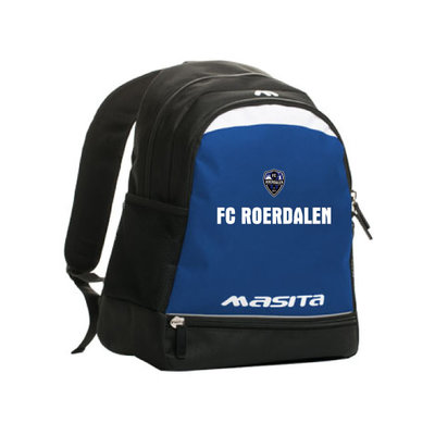 Rugzak FC Roerdalen met clublogo