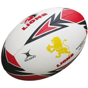 Gilbert rugbybal Lions Supporter Maat: Midi