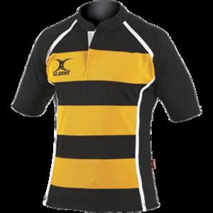 Gilbert Xact rugby shirt gestreept Maat XXL