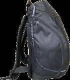 DENZZ rugzak zwart B 28cm, H 44cm, D 23cm_