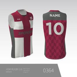 Eigen ontwerp Unisex Rugby shirt zonder mouwen