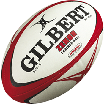 Gilbert Zenon rugbybal maat 3