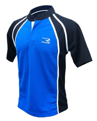 RUCO rugby shirt blauw