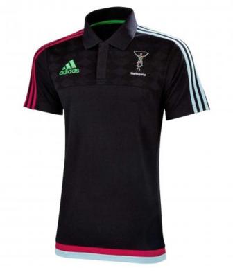 Adidas Harlequins rugby Polo shirt