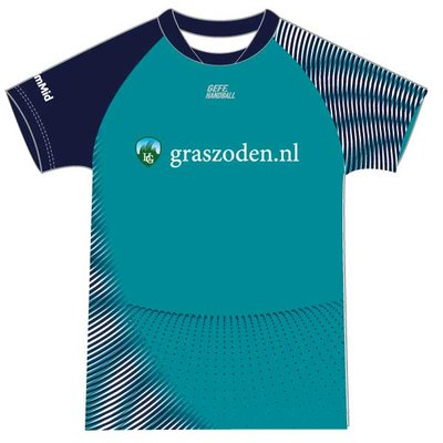 GEFF Trainingsshirt groen LimMid Unisex