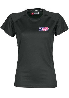 My35' T-shirt Zwart Dames model 100% Polyester