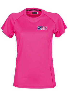 My35' T-shirt Rose Dames model 100% Polyester