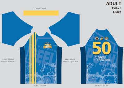GEFF Peelpush jubileum T-shirt Unisex