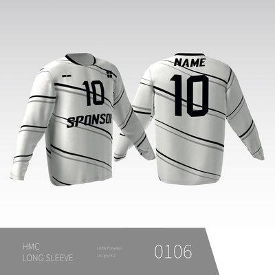 Eigen ontwerp Unisex T-shirt met lange rechte mouwinzet