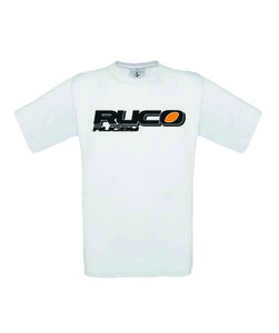 Ruco Rugby T-shirt wit logo