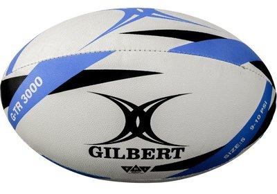 Gilbert rugbybal G-TR3000 trainer blauw size 5 Senior
